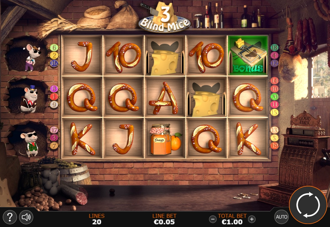 three blind mice slot