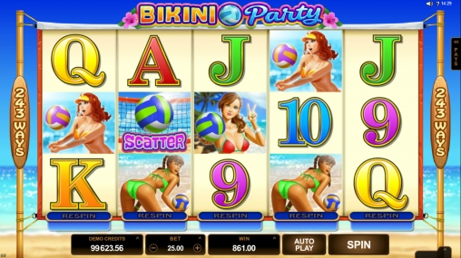 bikini party microgaming