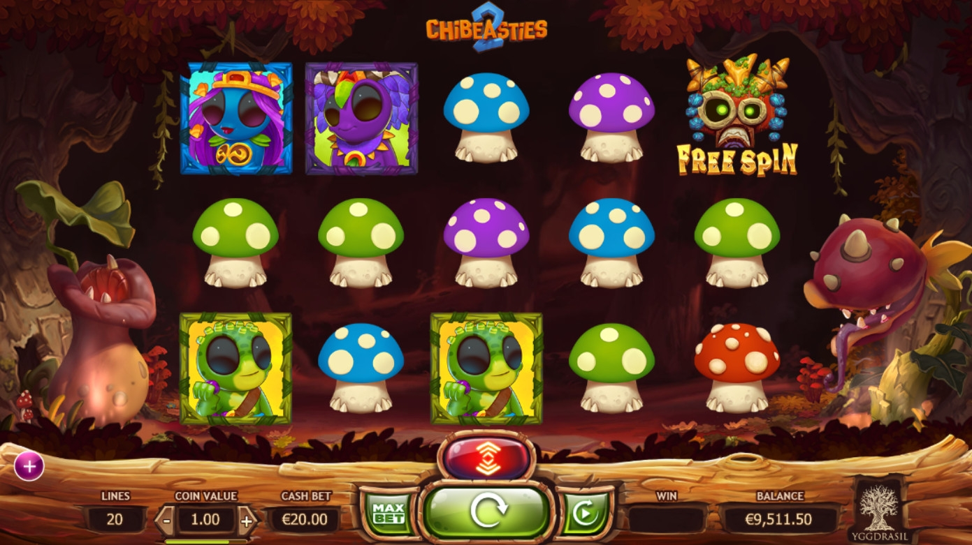Chibeasties II video slot