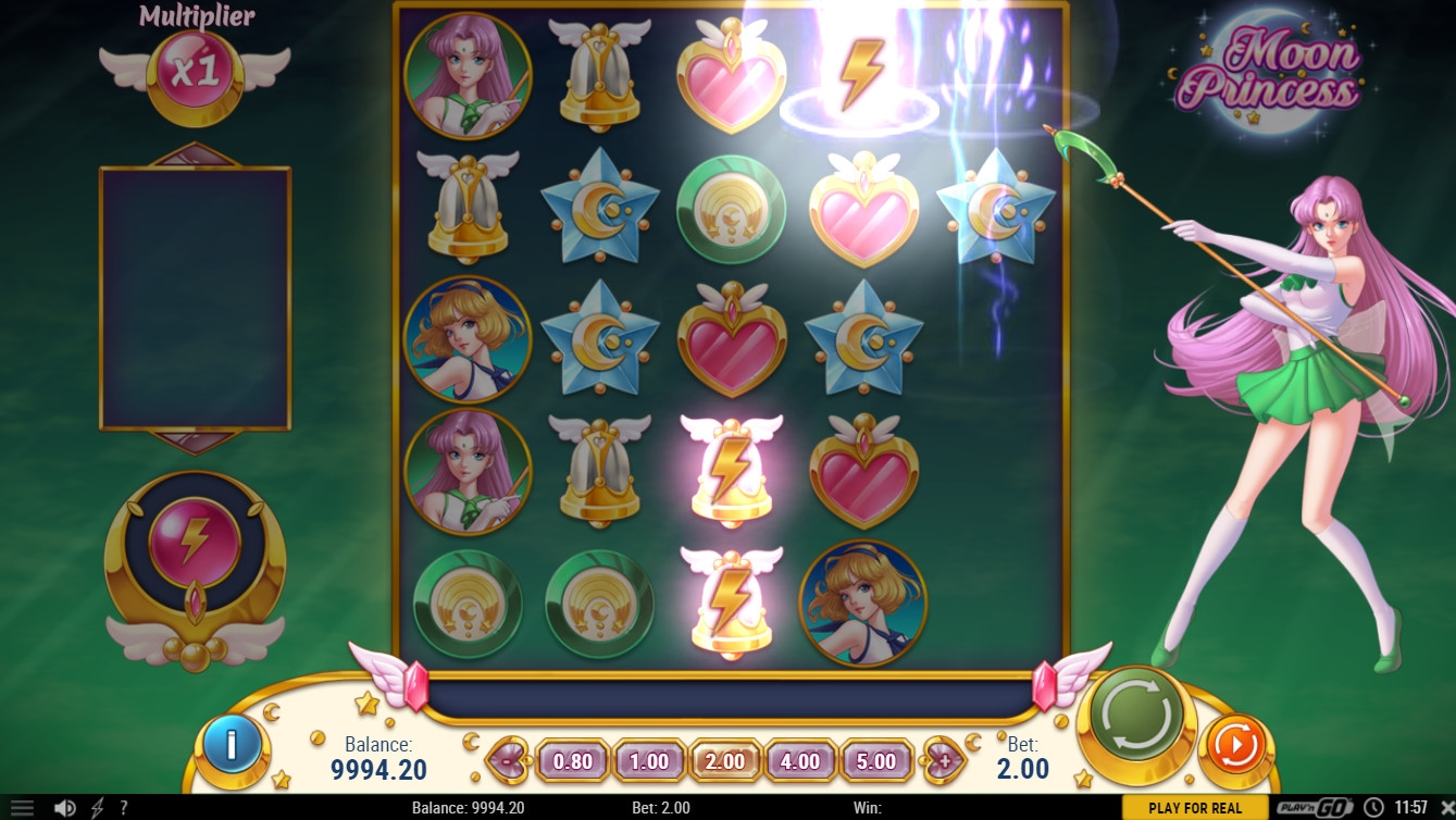 moon princess video slot playngo